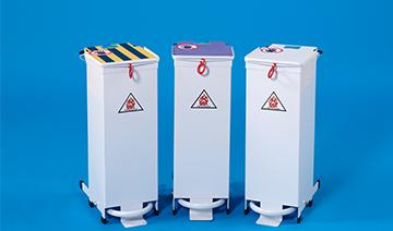 Hospital Infection Control & Hospital Waste Management; Waste Station Bins & Sack Holders